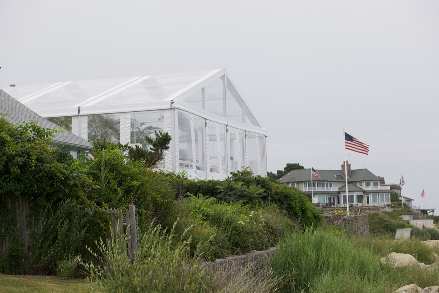 Tented in marblehead