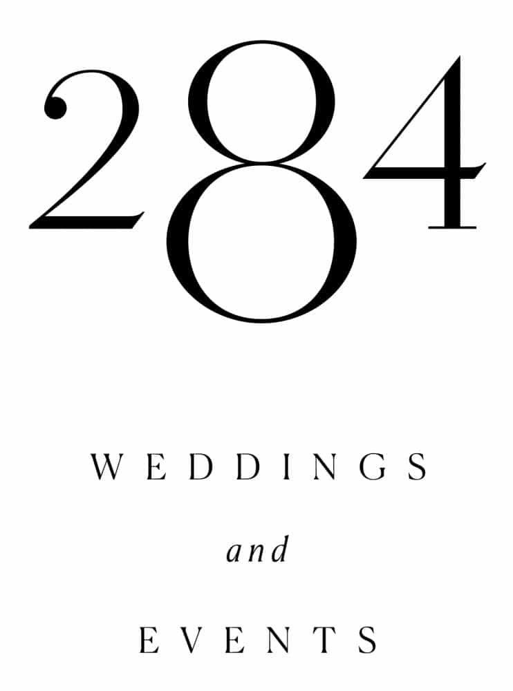 Introducing Two Eight Four Weddings & Events