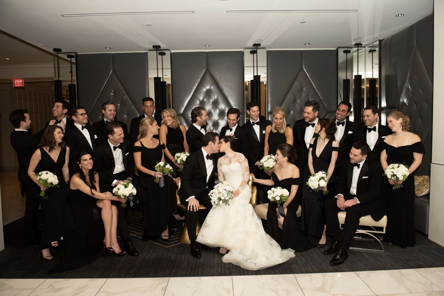 Fall Wedding at the Boston Park Plaza Hotel